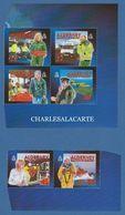 ALDERNEY AURIGNY 2002  COMMUNITY & MEDICAL SERVICES  2ND. SERIES BOOKLET STAMPS  S.G. 197a-202a U.M.  N.S.C. - Alderney