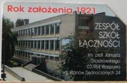 PO119 - POLONIA - POLSKA , URMET - 50-  1921 TEAM SCUOLA DI COMUNICAZIONE ANNO DI COSTITUZIONE - Pologne