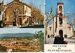 D13  Souvenir De Plan De Cuques .... Multivues - France