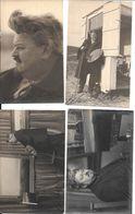 Valérius De Saedeleer. 4 Fotokaarten; - Oils