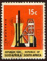Pays :  12,2 (Afr. Sud : République)  Yvert Et Tellier :  288 (o) Cadre Phosphorescent - South Africa (1961-...)