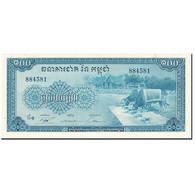 Billet, Cambodge, 100 Riels, 1972, Undated (1972), KM:13b, SUP - Cambodge