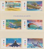 ALDERNEY AURIGNY 2003  POWERED FLIGHT ANNIVERSARY  S.G. 204-209 U.M.  N.S.C. - Alderney