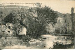 CPA -  AIX-LES-BAINS (ENV.) - CANAL DE SAVIERES - Aix Les Bains