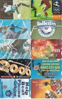 50 Télécartes AFRIQUE DU SUD (bon état) - Südafrika