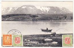 Island Blafell Via Hvitarvatn 1911 - Iceland