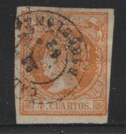 Spanje Espana  1860  Mi.nr. 44  Used - Usados
