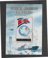 Korea N  1991  Block  Noordpool Expeditie  Used - Corea Del Nord