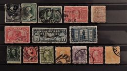 07 - 20 - USA - Lot De Timbres Anciens - Used Stamps