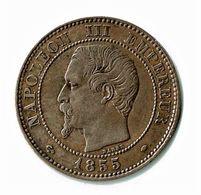 NAPOLEON III / 2 CENTIMES / 1855 MA  ANCRE / SUP - France