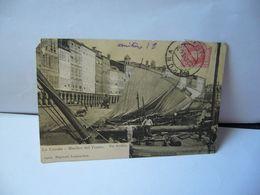 LA CORUNA LA COROGNE  ESPANA ESPAGNE GALICIA MUELLES DEL TEATRO CPA 1906 FOT AVRILLON 14019 PAPELERIA LOMBARDERO - La Coruña