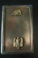 Zigarettenetui Stalhelm,metall - 1939-45