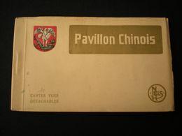 BRUXELLES - PAVILLON CHINOIS - NELS 10 CARTES VUES DETACHABLES - Monuments, édifices