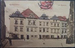 POLEN POLAND POLOGNE - 1909 WARSZAWA WARSCHAU Ul. Kanonia - Colored Postcard - Pologne