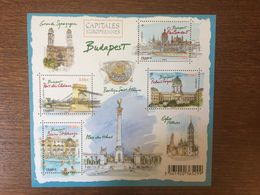 FRANCE 2011 CAPITALES EUROPEENNES BUDAPEST 4538 - Blocs Souvenir