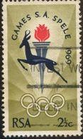Pays :  12,2 (Afr. Sud : République)  Yvert Et Tellier :  318 (o) - South Africa (1961-...)