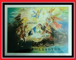 107. LESOTHO 1980 STAMP M/S CHRISTMAS. MNH - Lesotho (1966-...)