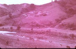 DIAPOSITIVE AFRIQUE TRADITIONNELLE ZOULOU ET XHOSAS Village Au Nord De DURBAN - Diapositives