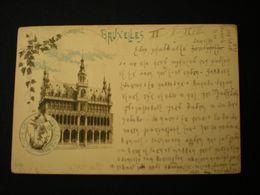 BRUXELLES 1897 - LA MAISON DU ROI - ED. PR - Monumenten, Gebouwen