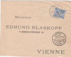 Egypte Lettre Alexandrie Pour L'Autriche 1893 - Egypt