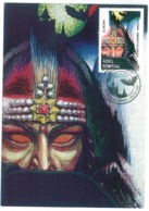 MAX 38 - 701 DRACULA, Romania - Maxicard - Used - 1997 - Fairy Tales, Popular Stories & Legends