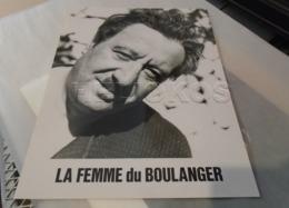 """RAIMU DANS """" LA FEMME DU BOULANGER """"PHOTO EXPLOITATION 24 X 30,5 Cm - Fotos"""