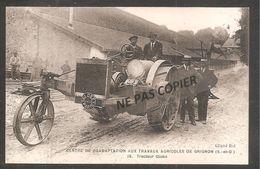 GRIGNON   Centre De Réadaptation Aux Travaux Agricoles   / Tracteur Globe PARIS - Grignon