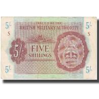 Billet, Grande-Bretagne, 5 Shillings, KM:M4, TTB - Autorità Militare Britannica