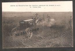 GRIGNON   Centre De Réadaptation Aux Travaux Agricoles   / Tracteur Case - Grignon