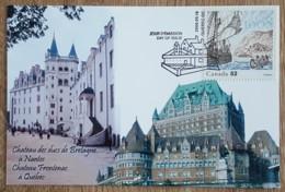 Canada - CM 2008 - YT N°2351 - FONDATION DE LA VILLE DE QUEBEC - Maximumkaarten