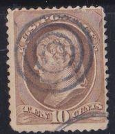 USA  ETATS-UNIS :  Yvert 44 Thomas Jefferson (o) - 1847-99 General Issues