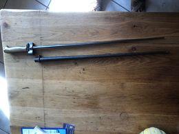 BAIONNETTE LEBEL ROSALIE + FOURREAU Modèle 1886-93-15 - Armes Blanches