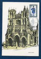 France - Carte Maximum - Amiens - Somme - 1968 - Maximum Cards