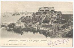 CPA Etats-Unis > RI - Rhode Island - Newport - BEACON ROCK, Residence Of E.D. Morgan - Newport