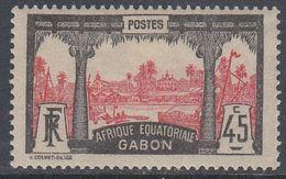 Gabon 1922 - Definitive Stamp: Libreville - Mi 65 * MH [999] - Nuevos