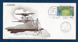 France - Carte Maximum - Commémoration De La Traversée De L'Atlantique Sud Par L'Aéropostale - 1985 - Maximum Cards