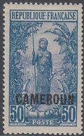 Cameroun 1916 - Definitive Stamp: Bakalois Woman - Mi 42 ** MNH [1000] - Camerún (1915-1959)