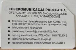 PO120 - POLONIA - POLSKA , URMET - 50-  PT TELEKOMUNIKACJA POLSKA S. A - Pologne