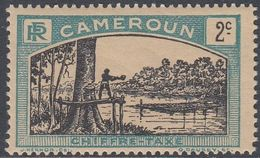 Cameroun 1925 - Postage Due Stamp: Lumberjack - Mi 1 ** MNH (tropical Gum) [1003] - Camerún (1915-1959)