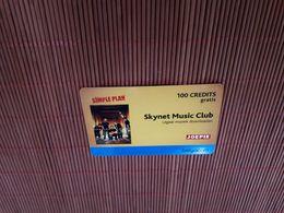 Skynet Belgacom Music Club Not Prepaidcard 2 Scans Rare - Belgique