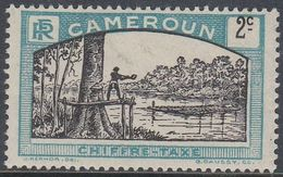 Cameroun 1925 - Postage Due Stamp: Lumberjack - Mi 1 * MH [1004] - Camerún (1915-1959)