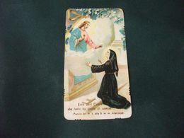 SANTINO HOLY PICTURE PREGHIERA A S. MARGHERITA ALACOQUE - Godsdienst & Esoterisme