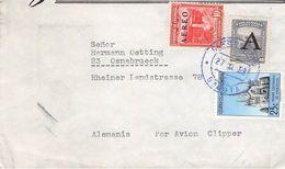 COLOMBIA - AIR MAIL 1958 BOGOTÁ -> OSNABRÜCK //ak227 - Kolumbien