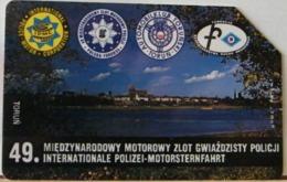 PO123 - POLONIA - POLSKA , URMET - 50 -  RALLY INTERNAZIONALE POLIZIA SU MOTOSCAFO? - Pologne