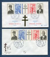 France - FDC - Premier Jour - Anniversaire De La Mort Du Général De Gaulle - 1971 - 1970-1979