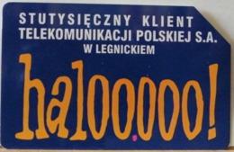 PO124 - POLONIA - POLSKA , URMET - 25 -  HALOOOOO UN CLIENTE INDICE DI TELECOMUNICAZIONE - Pologne