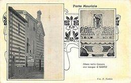 Italy Porto Maurizio Imperia Postcard - Italie
