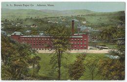 CPA Etats-Unis > MA - Massachusetts - ADAMS - L.L. Brown Paper Co - Autres