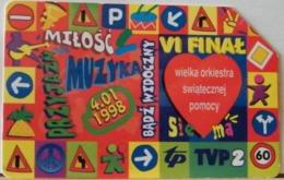 PO127 - POLONIA - POLSKA , URMET - 50 - UNA GRANDE ORCHESTRA DI AIUTO SANTO - Pologne