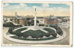 CPA Etats-Unis > LA - Louisiana - New Orleans - Lee Circle - New Orleans
